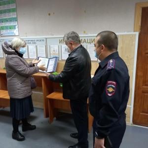 В Самарской области полицейские и общественники занялись популяризацией госуслуг