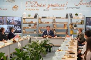 Дмитрий Азаров: Учитель – одна из самых благородных профессий»