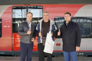 С вводом скоростного поезда «Ласточка» пассажиропоток на данном направлении увеличился более чем на 70%.