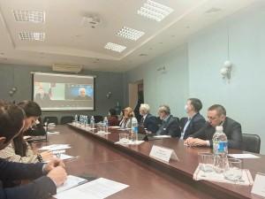 Для делегации НОЦ «Инженерия будущего» была организована экскурсия по Чувашскому государственному университету им. И.Н. Ульянова.