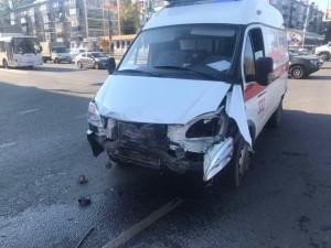 Госпитализированы2 пассажира спецавтомобиля.