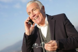 Средняя продолжительность звонка у людей старше 65 лет за последний год выросла на 22%, а количество совершаемых звонков возросло на 18%.