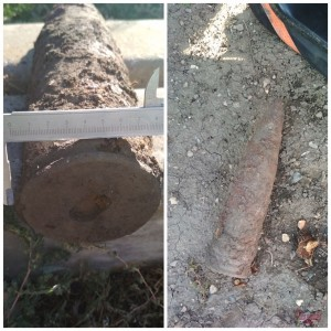 В Самарской области сотрудники Росгвардии уничтожили артиллерийский снаряд