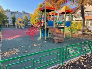 В Красноглинском районе Самары благоустроили дворы