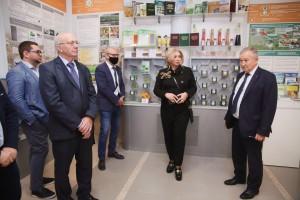 Состоялось рабочее совещание с представителями Национальной Академии Наук Белоруссии, задачей которого является международное научно-образовательное сотрудничество.