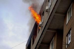 На двух пожарах пострадали люди.