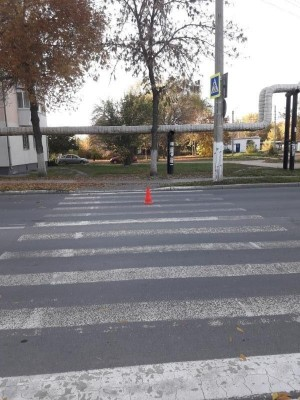В Чапаевске автомобилистка сбила пешехода