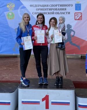 Представительница Самарской области Анна Дворянская завоевала три медали.