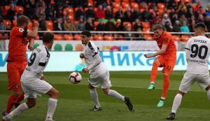 «Крылья Советов» сыграли вничью с «Уралом» в товарищеском матче
