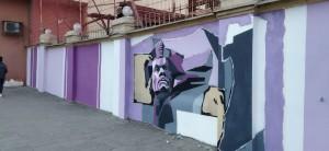 Уличные художники украсят стену Самарской ГРЭС