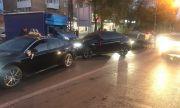 В Тольятти свадебный кортеж ехал по тротуару