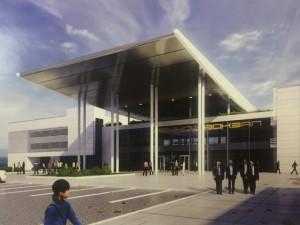 Строительство нового речного вокзала в Самаре могут начать уже в 2018 году.  Оформить его планируют в стиле хай-тек.