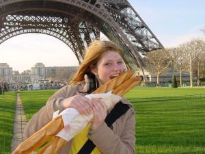 «Багет — такой же символ Франции, как Эйфелева башня.»
