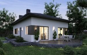 Доступная цена дома из газобетона под ключ - компания Монолит Хаус