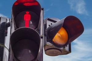Пешеходные светофоры около Загородного парка в Самаре заработают в марте Они пока не подключены к питанию.