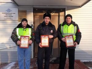 В Самарской области участковый спас замерзающего невменяемого мужчину