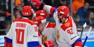 Сборная России по хоккею прибыла в Корею перед Олимпиадой. Команду встретили около 200 болельщиков.