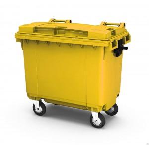 В зеленые контейнеры нужно будет выбрасывать мусор для захоронения на полигоне.