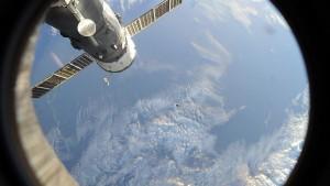 Грузовой корабль «Прогресс МС-08» вышел на промежуточную орбиту Корабль достигнет станции спустя двое суток.