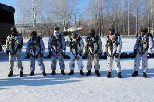 Разведчики из Сибири, Урала и Поволжья начали десантироваться на правый берег Волги в Самарской области