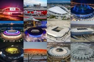 Все стадионы к ЧМ-2018 введены в эксплуатацию. «Самара Арена» самый крупный из всех построенных к ЧМ-2018