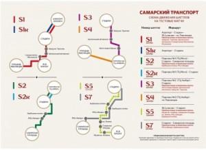 16 мая из-за тестового матча в Самаре будет усилена работа автобусных маршрутов