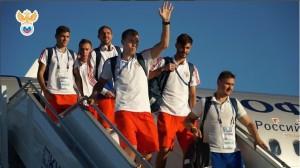 Сборная России показала, как их встретили в Самаре Не менее колоритно приветствовали игроков в гостинице.