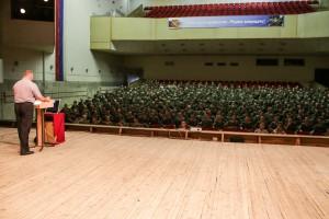 Его получил военнослужащий соединения спецназа Центрального военного округа.