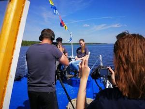 Экспедиция, в ходе которой идут съемки документального проекта «Великие реки России», будет работать в Самаре 26 и 27 июля. Работу ведут АНО «Русское океанографическое сообщество» и телеканал OCEAN-TV.