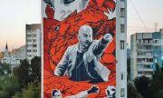 Сборная России оценила граффити победы над Испанией в Самаре