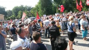 Европейский суд запросил у РФ объяснения по задержанию организатора марша пенсионеров в Самаре