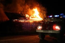В Сызрани ночью горел частный дом на 50 кв. метрах Пожар тушили 25 человек.