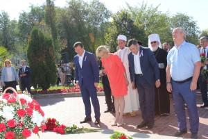 Присутствовавший на мероприятии Митрополит Самарский и Тольяттинский Сергий по многочисленным просьбам горожан провёл церемонию освящения памятника Григорию Засекину.