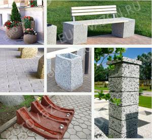 Производство малых архитектурных форм