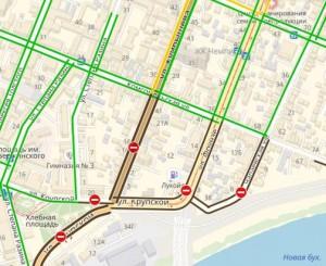 Три улицы в центре Самары перекрыли на целый год  В Самаре с 1 октября введены ограничения движения в связи со строительством Фрунзенского моста.