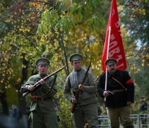 В Самаре прошла реконструкция боевых действий, предшествовавших взятию города красными в октябре 1918 года: ФОТО Мероприятие прошло в рамках фестиваля
