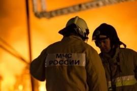В Тольятти горело газовое оборудование в торговом павильоне