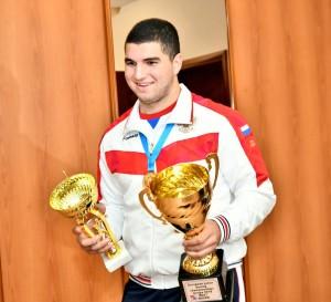 Желаем новых побед нашему талантливому боксеру!