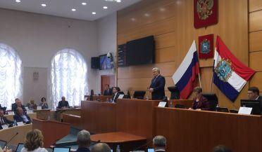 Геннадий Котельников единогласно избран Председателем Самарской губернской думы  За его кандидатуру проголосовали 44 депутата.