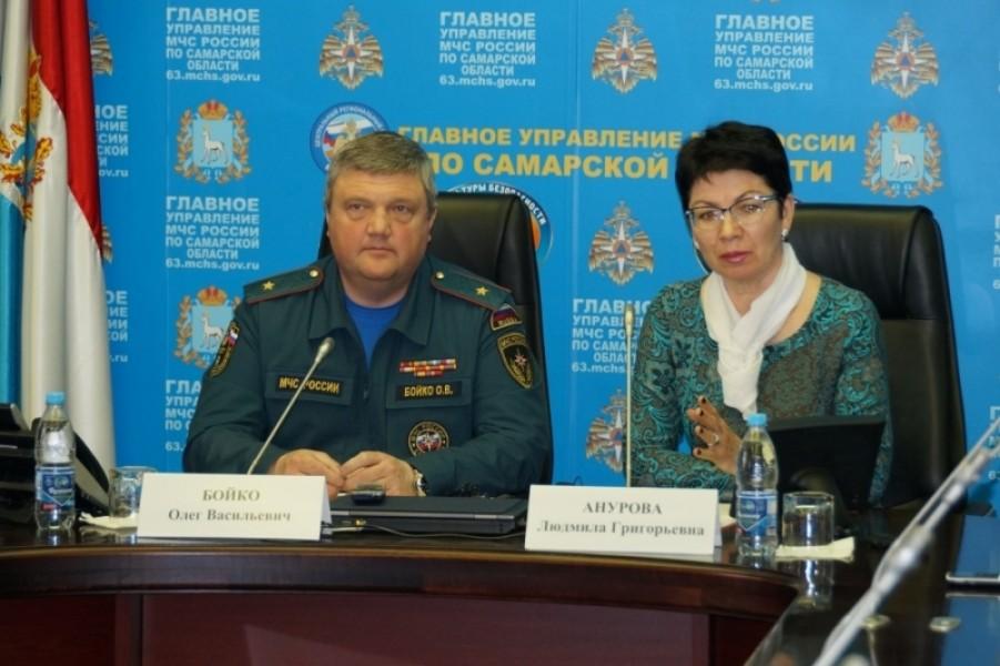 Олег Бойко: Пик весеннего половодья, вызванного таянием снега, в Самарской области пройден